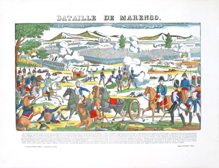 Pellerin - Bataille De La Marengo - 1912