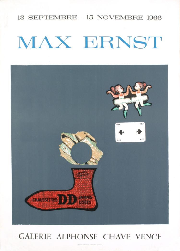 Max Ernst - Alphons Chave Vence - 1966
