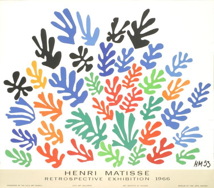 Henri Matisse - Retrospective Exhibition - 1966