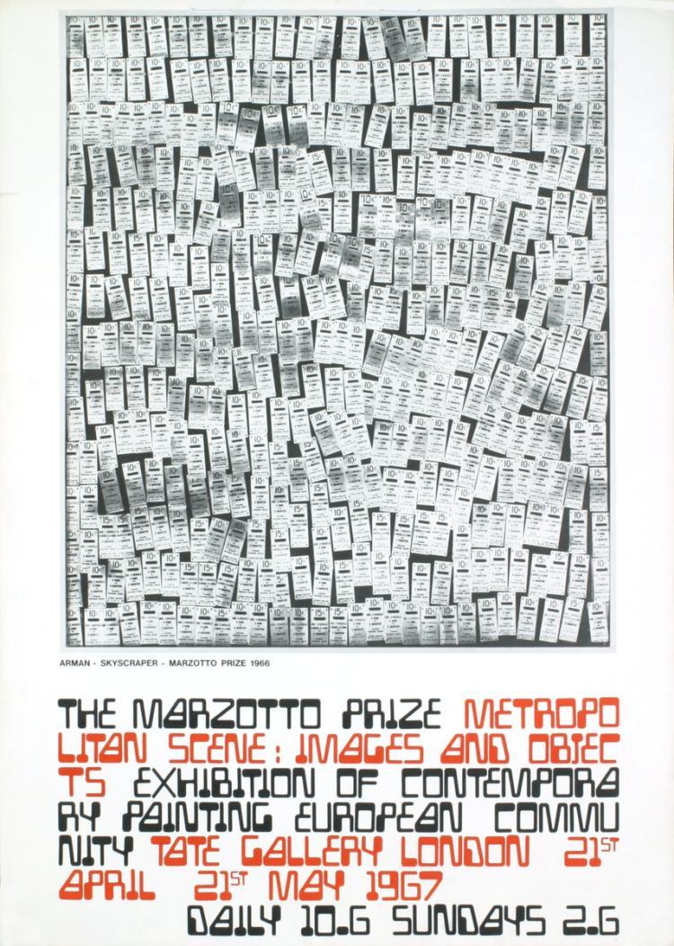 Pierre Fernandez Arman - Skyscraper - 1967