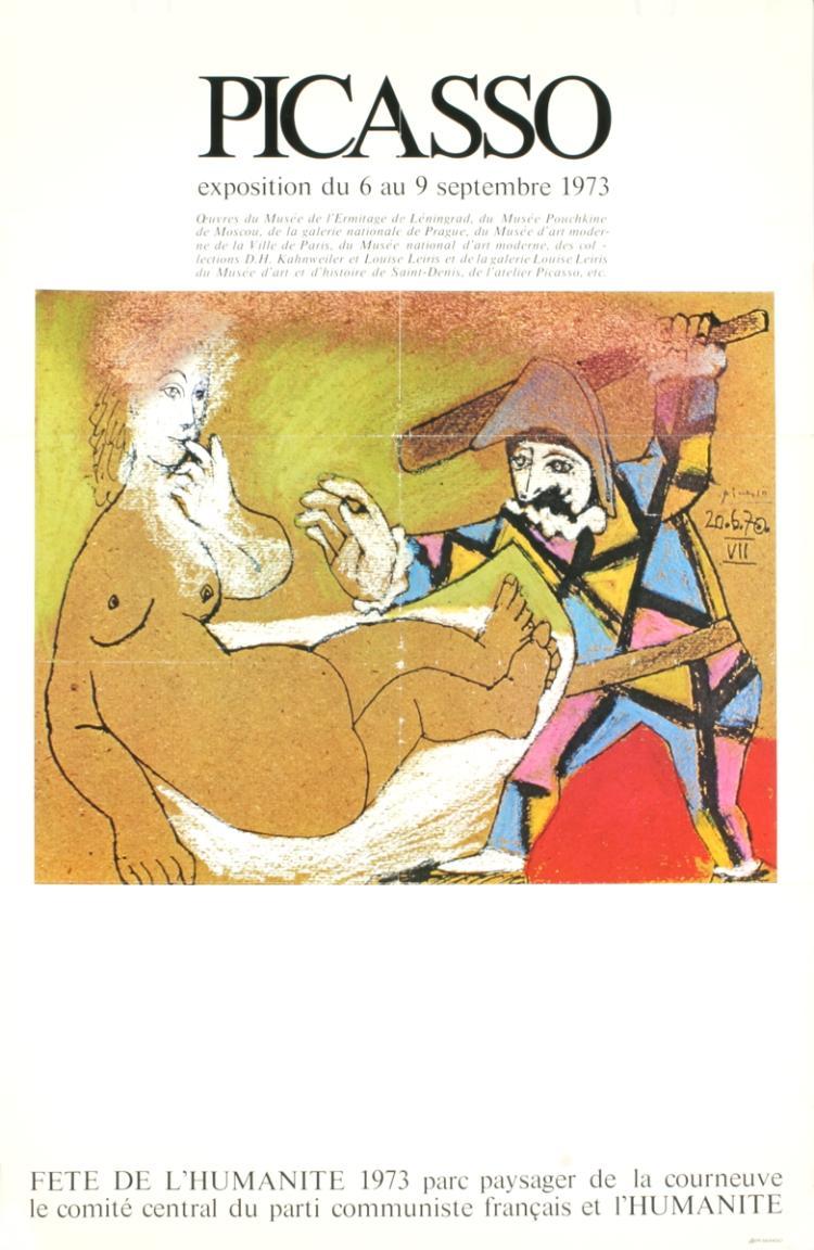 Pablo Picasso - Fete De L'Humanite - 1973