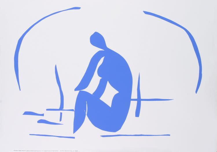Henri Matisse - Baigneuse dans les Roseaux