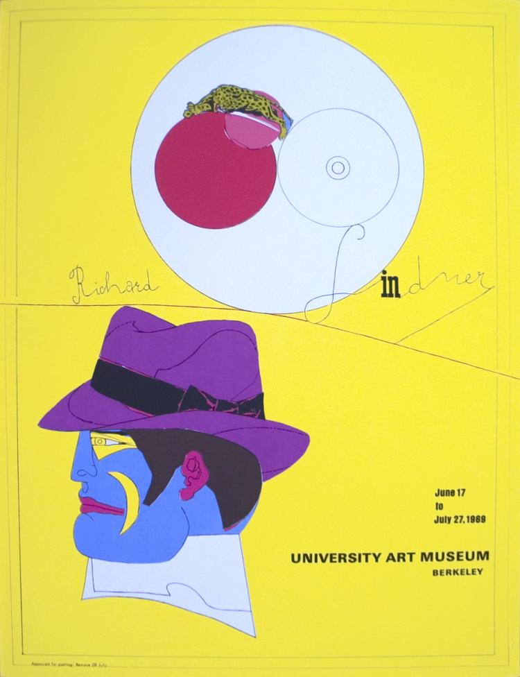 Richard Lindner - University Art Museum - 1968