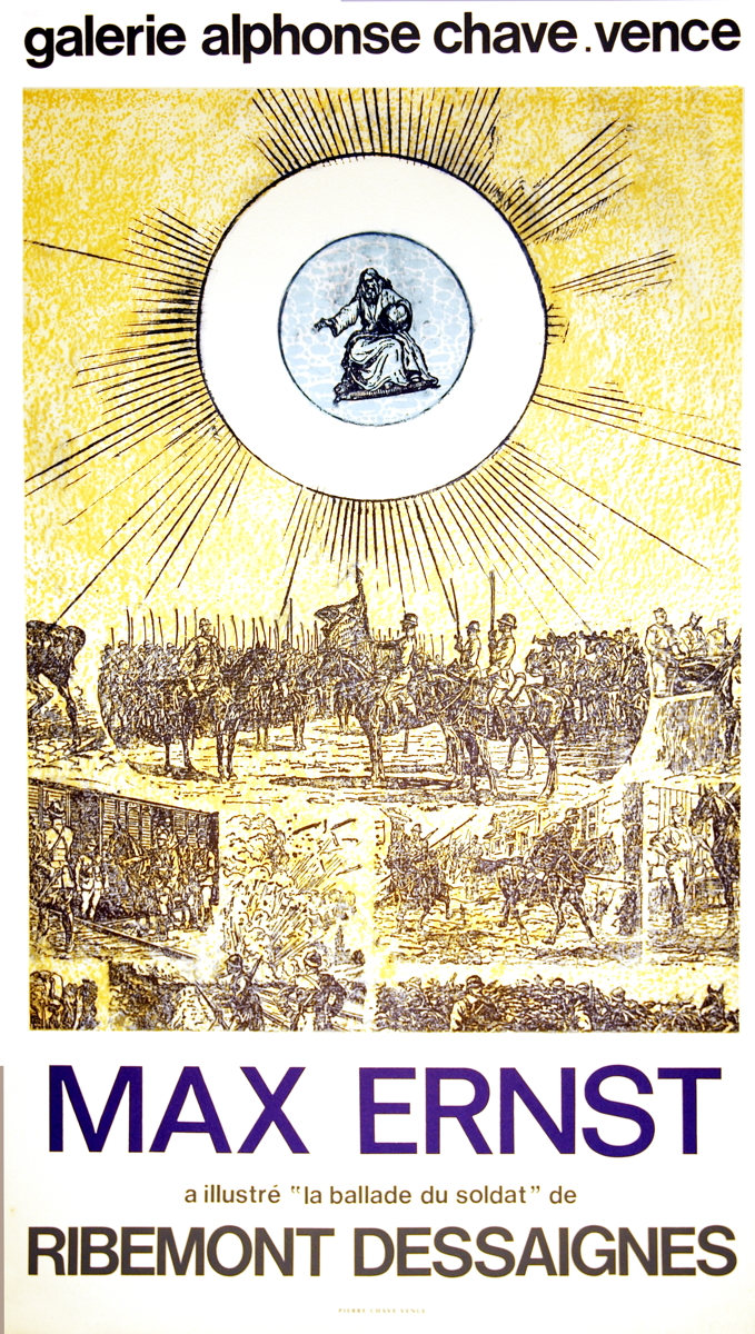 Max Ernst - La Ballade du Soldat - 1972