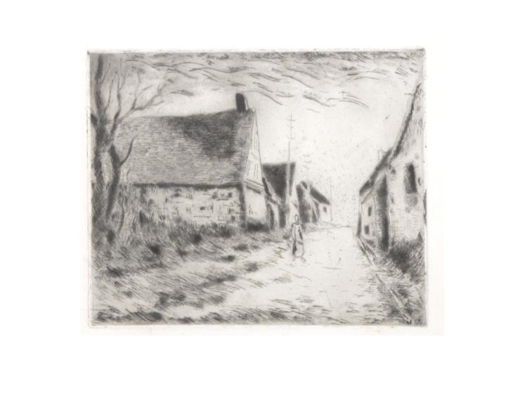 Maurice Vlaminck - Boissy-les-Perches - 1951