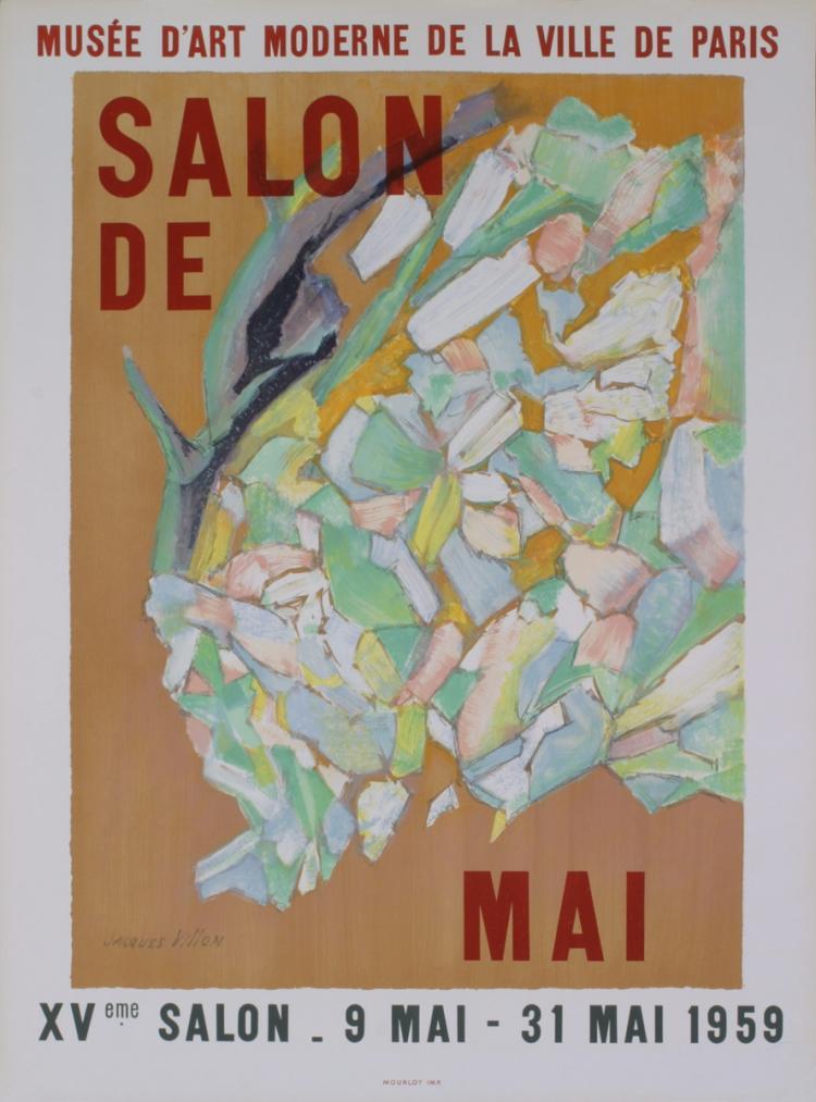 Jacques Villon - XVieme Salon de Mai - 1959