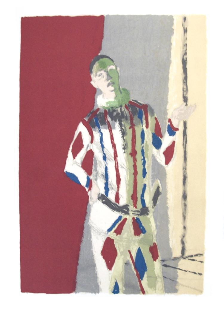 Maurice Brianchon - L'Arlequin - 1959