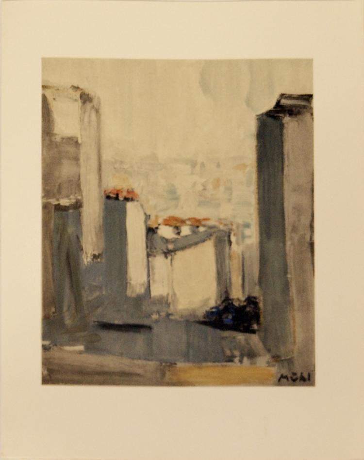 Roger Muhl - Montmartre, Rue du Mont-Cenus - 1963