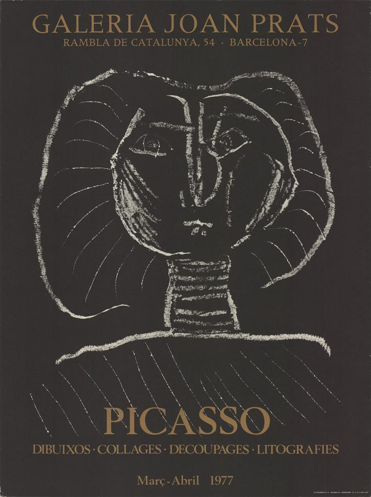 Pablo Picasso - Galeria Joan Prats - 1977