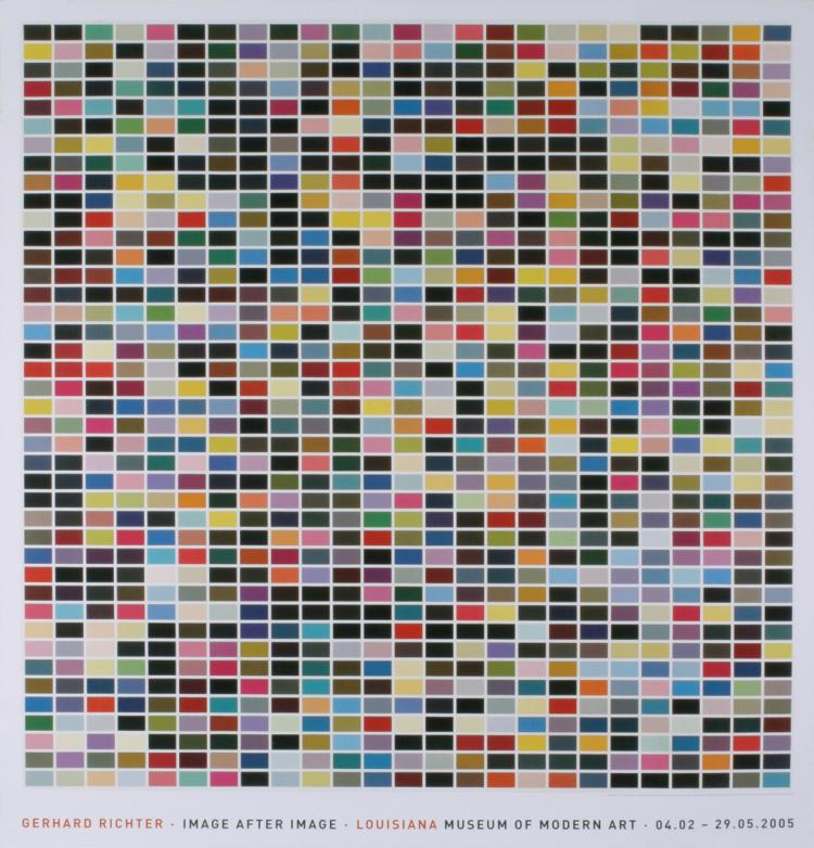 Gerhard Richter - 1025 Colors (1025 Farben) - 2005