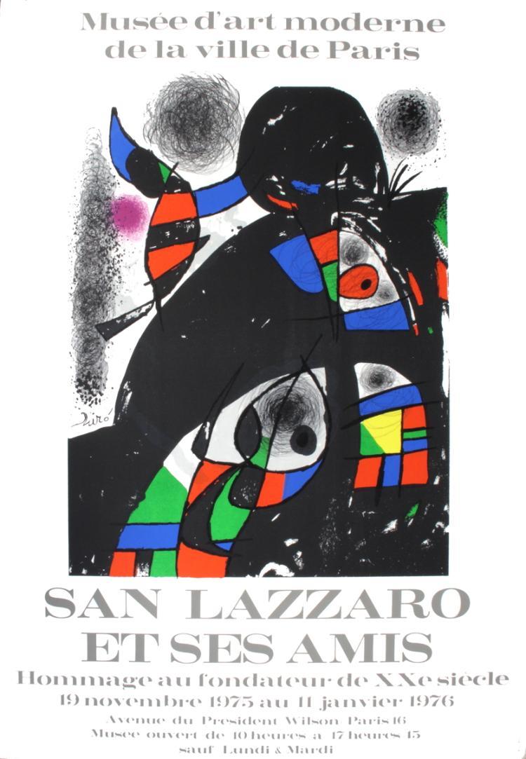Joan Miro - San Lazzaro et Ses Amis - 1975