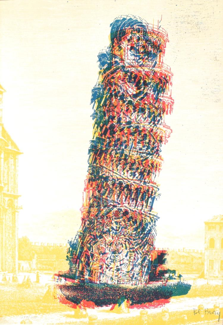 Pol Bury - Leaning Tower