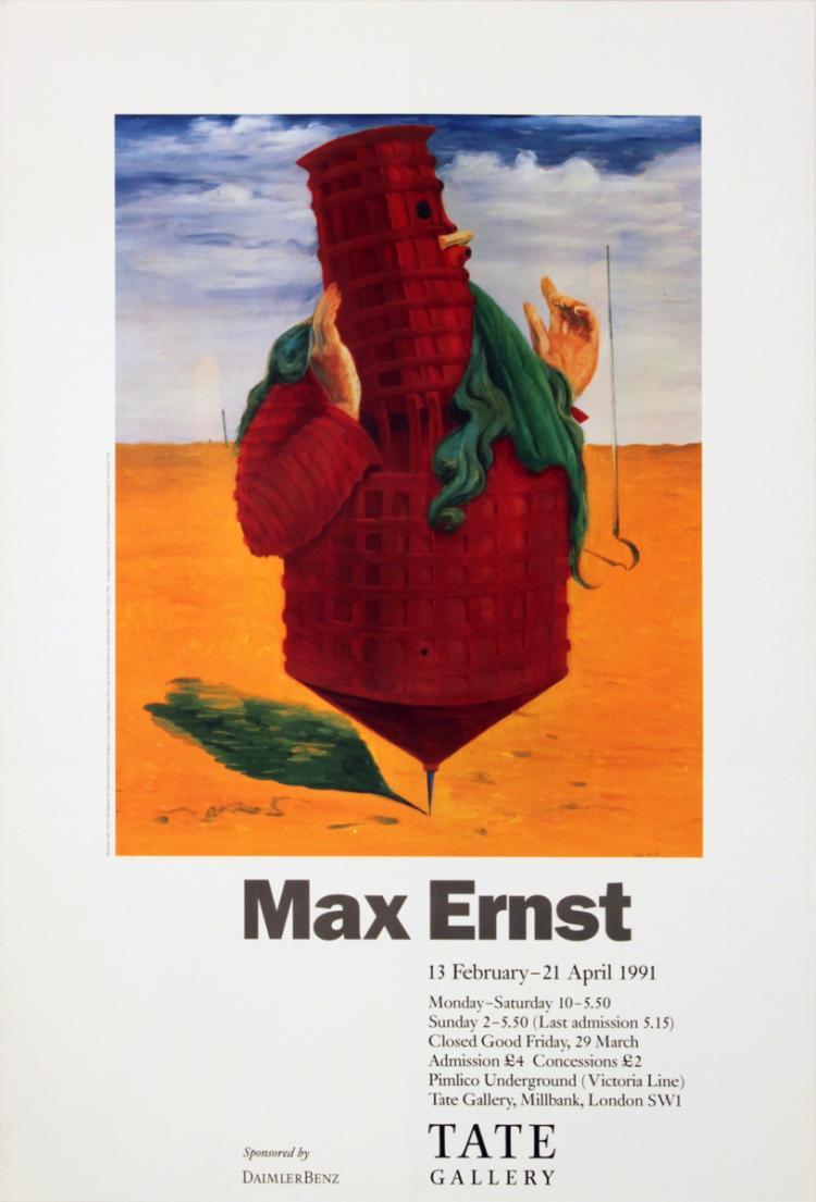 Max Ernst - Ubu Imperator - 1991