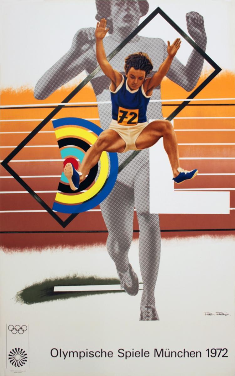 Peter Phillips - Munich Olympics - 1972