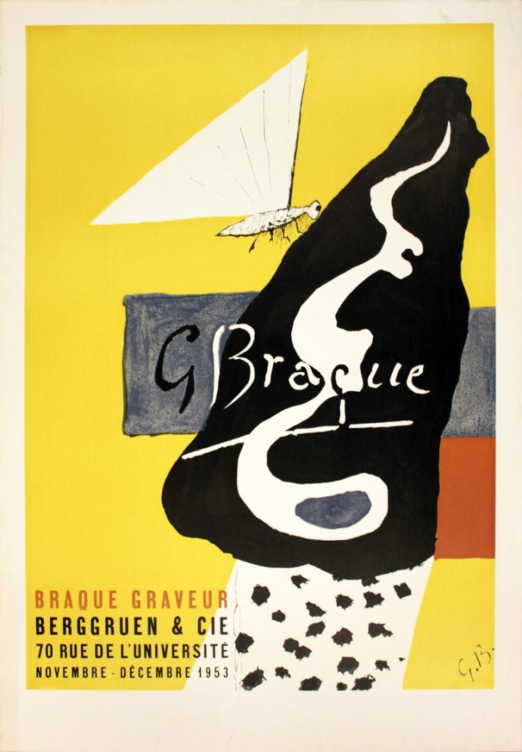 Georges Braque - Graveur - 1953