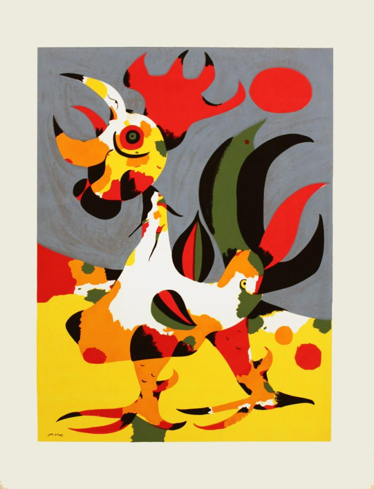 Joan Miro - The Rooster