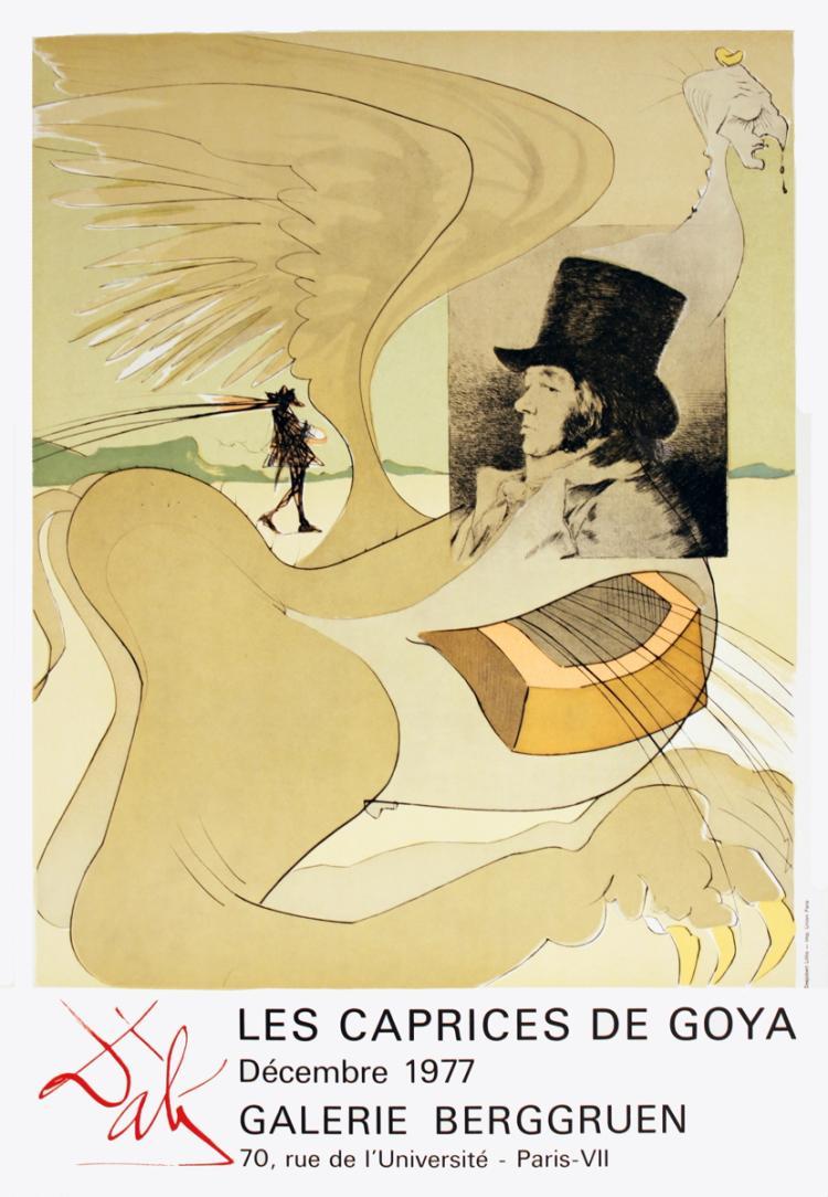 Salvador Dali - Les Caprices De Goya - 1977