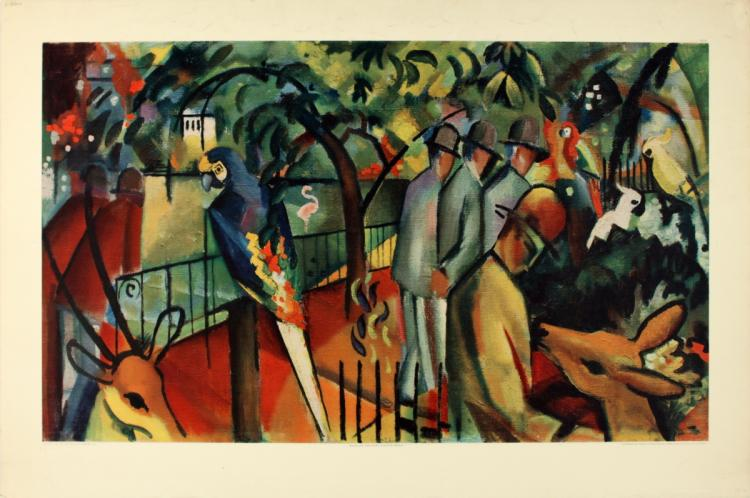 August Macke - Zoological Gardens I