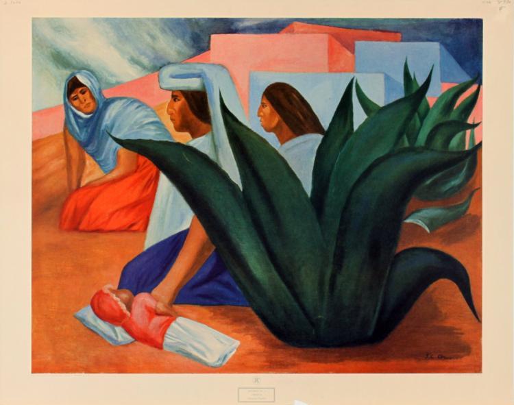 Jose Clemente Orozco - Mexican Pueblo
