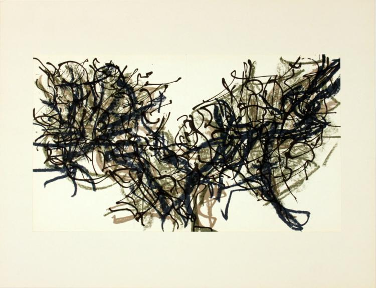 Jean-Paul Riopelle - Untitled