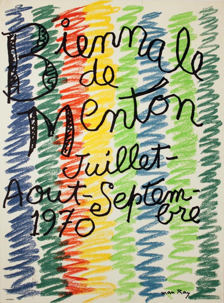 Man Ray - Biennale de Menton - 1970