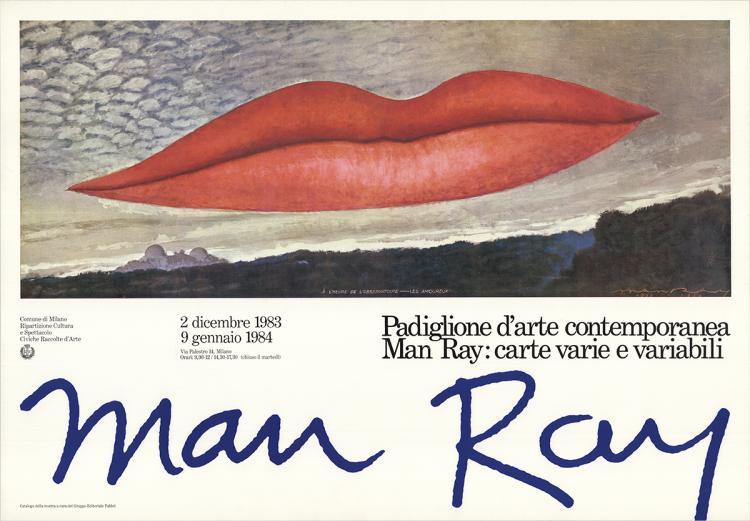 Man Ray - A L'Heure de L'Observatoire-Les Amoureux - 1983