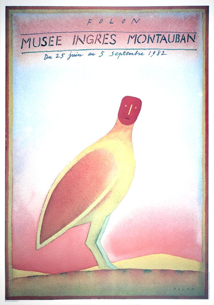 Jean-Michel Folon - Musee Ingres Montauban - 1982