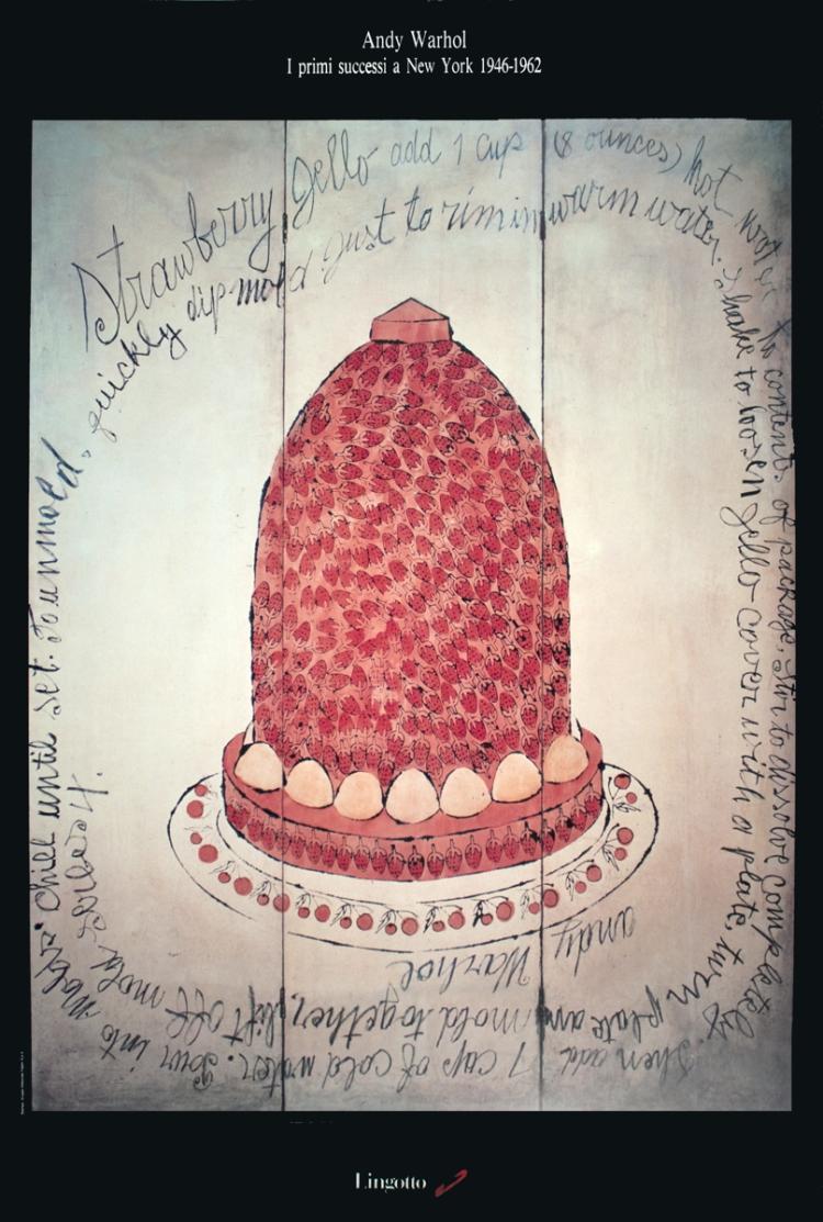 Andy Warhol - Strawberry Jello