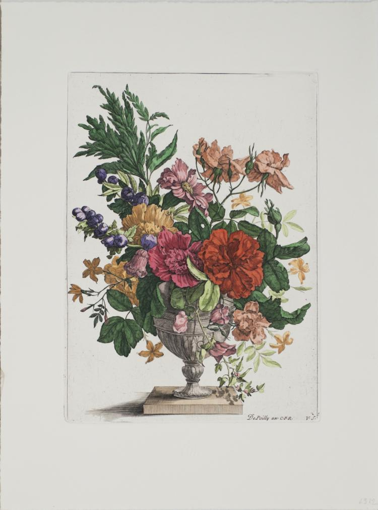 Francois De Poilly - Floral Bouquet