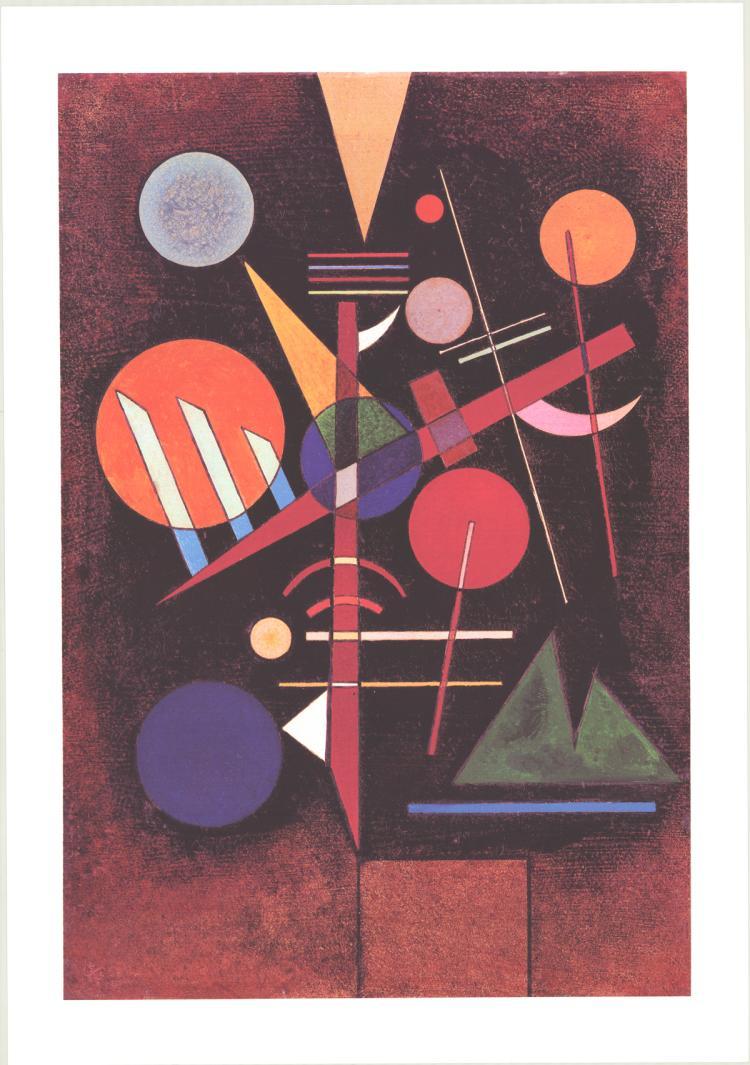 Wassily Kandinsky - Equilibrium - 1996