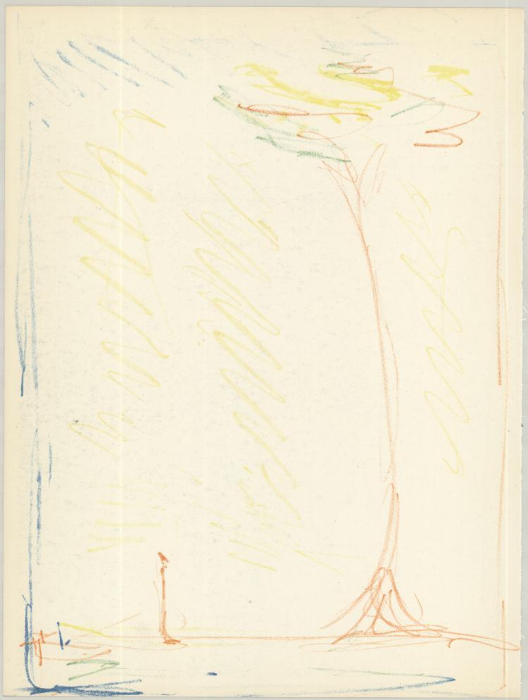 Alberto Giacometti - L'Arbe - 1953