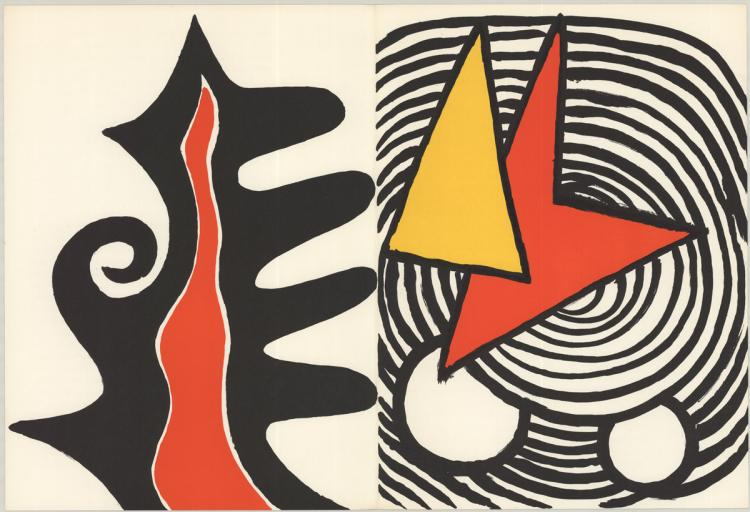 Alexander Calder - Retour au mobile (from DLM 201) - 1973