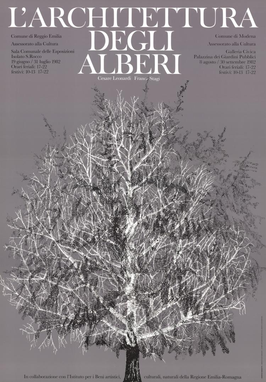 Louise Bourgeois - L'architettura Degli Alberi - 1982