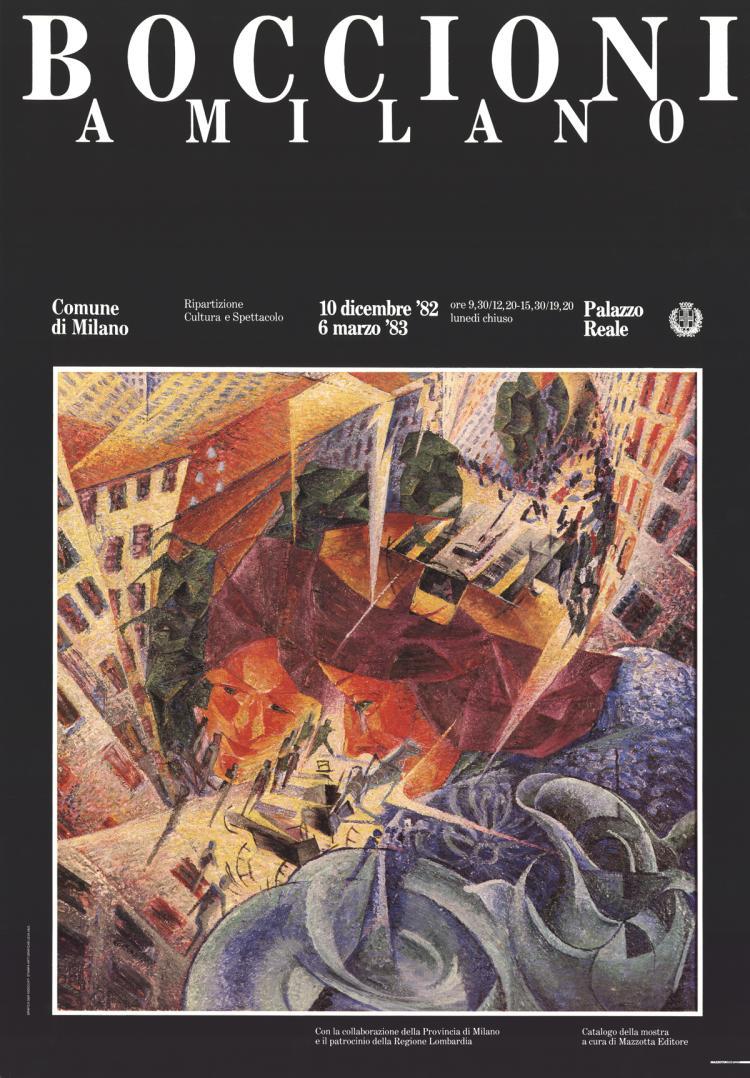 Umberto Boccioni - Amilano - 1983