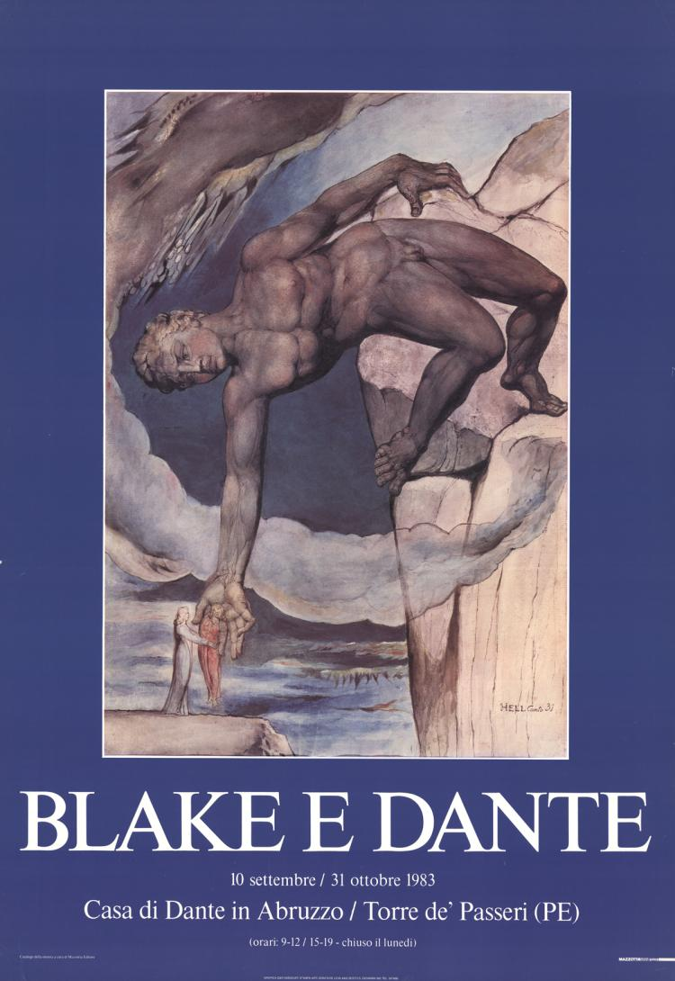 William Blake - Dante - 1983