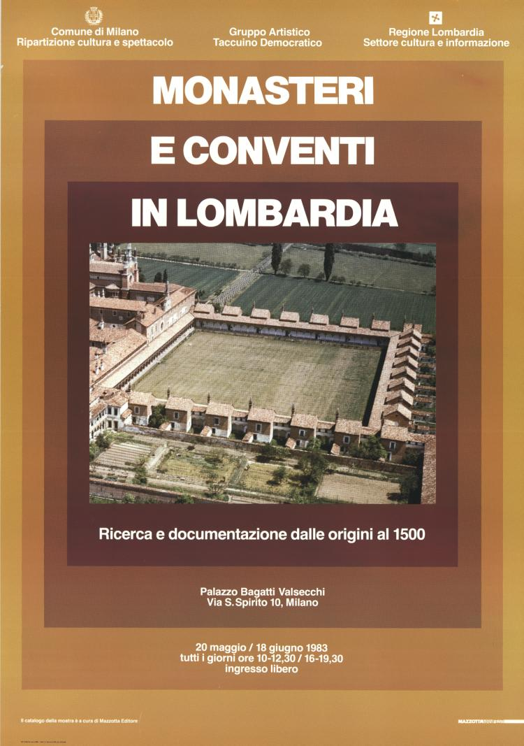 Monasteries and Convents in Lombardi, Italy - 1983
