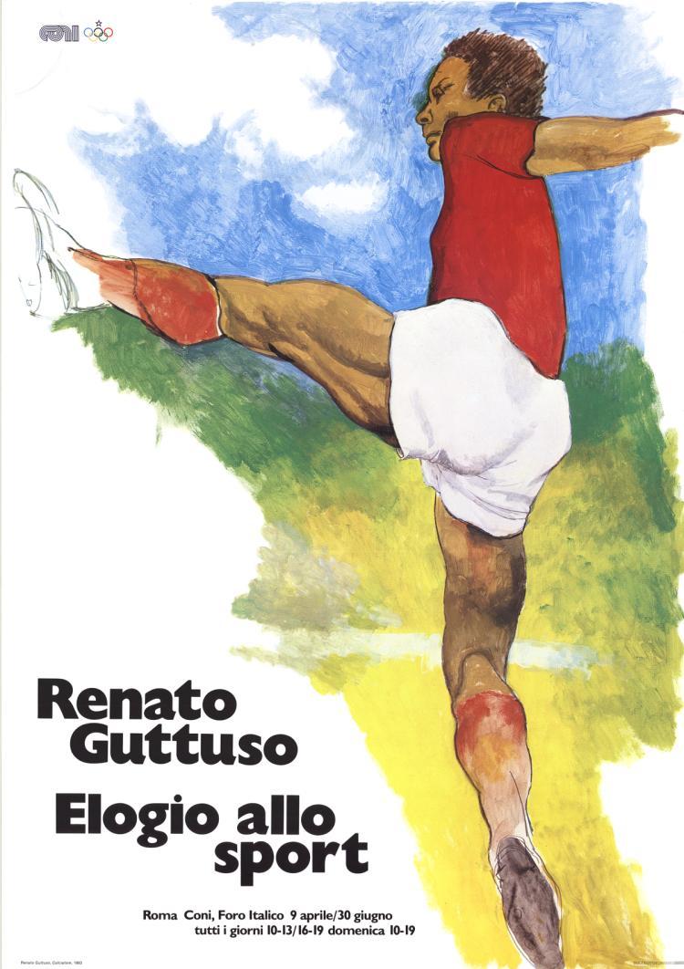 Renato Guttuso - Elogio Allo Sport - 1983