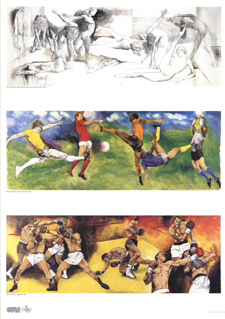 Renato Guttuso - Olympic Events - 1983