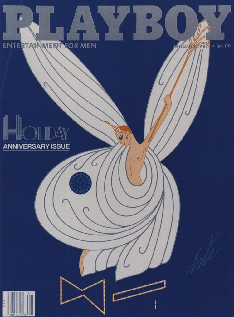 Erte - Playboy Cover (1987)