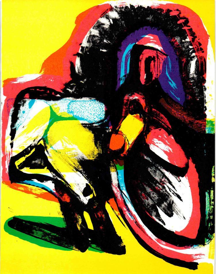 Arne Haugen-S?rensen - Untitled composition  - 1967
