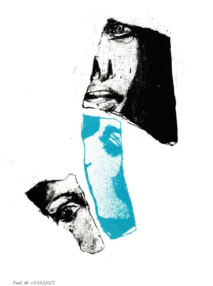 Paul de Lussanet - Untitled composition  - 1967