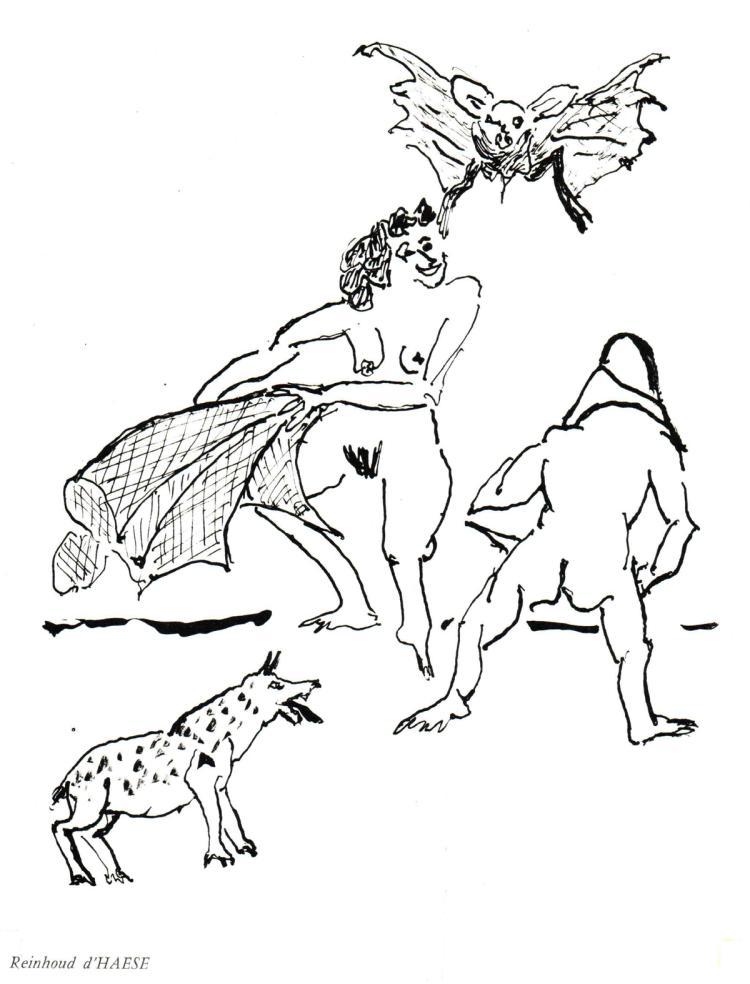 Reinhoud d'Haese - Untitled composition - 1967