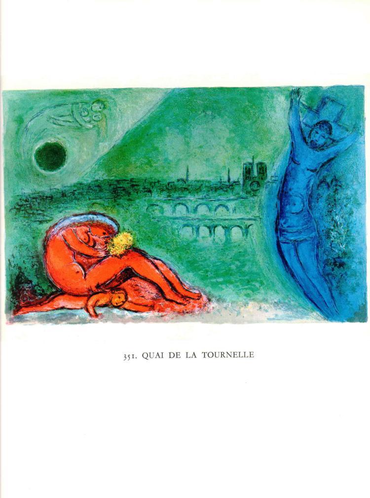 Marc Chagall - Quai de la Tournelle - 1963
