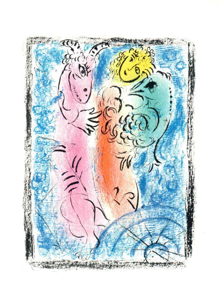 Marc Chagall - Le Piege - 1963