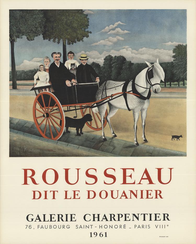 Henri Rousseau - Dit Le Douanier - 1961