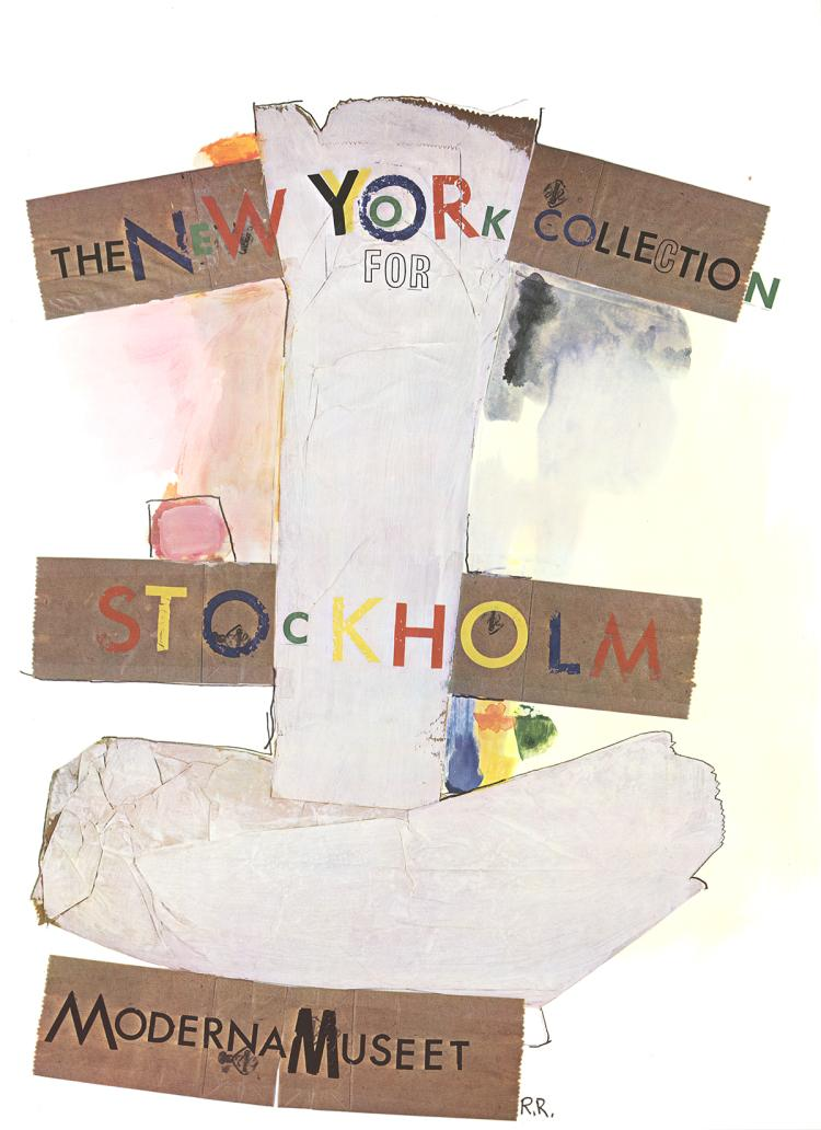 Robert Rauschenberg - New York Collection for Stockholm - 1968