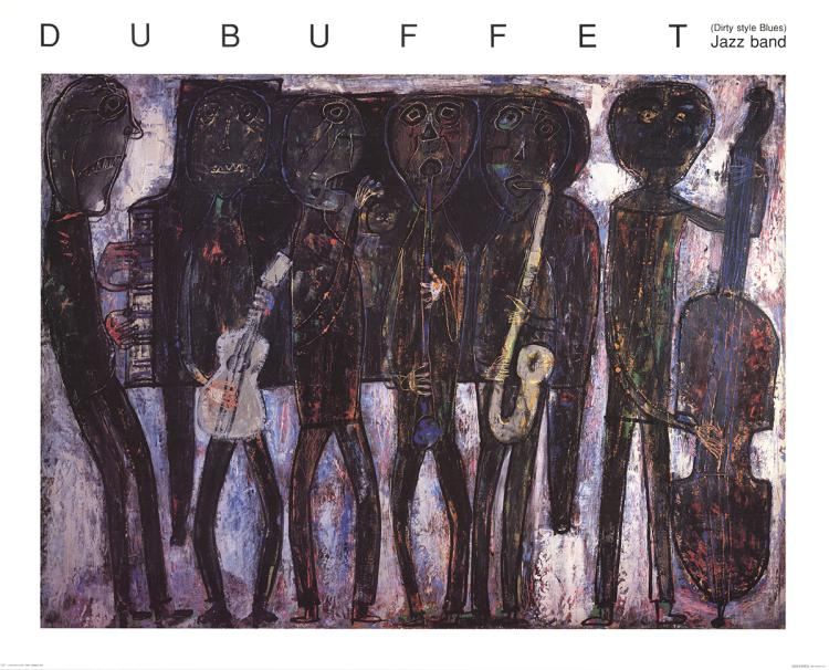 Jean Dubuffet - Jazz Band - 1990