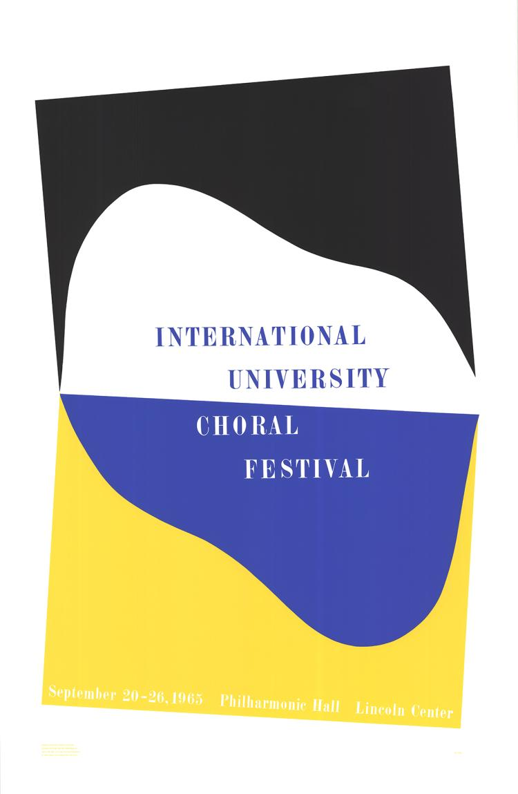 Charles Hinman - International University Choral Festival - 1965
