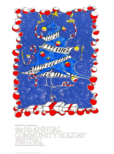 Joseph Zucker - 9th Annual Community Holiday Festival - 1979