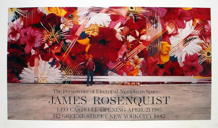 James Rosenquist - The Persistence of Electrical Nymphs in Space - 1985
